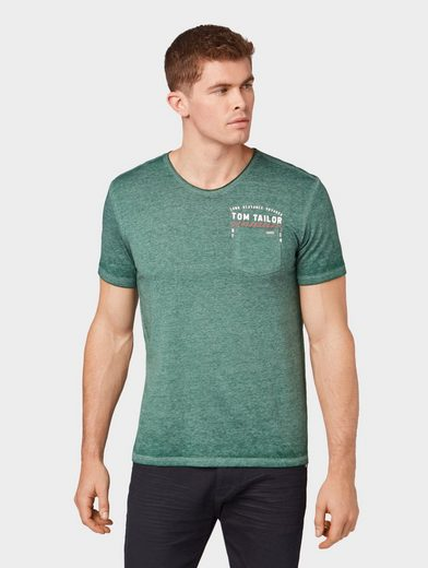 TOM TAILOR T-Shirt »T-Shirt im Used-Look«