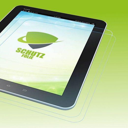 Wigento Tablet-Hülle »2x Displayschutzfolie für Samsung Galaxy Tab E 8.0 T377V T375 + Poliertuch«