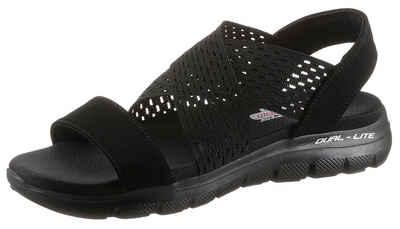 Skechers »FLEX APPEAL 2.0 - COOL CITY« Sandale für Maschinenwäsche geeignet