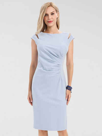 Apart Jerseykleid mit Cut-Outs