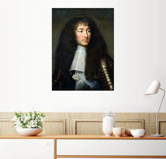 Posterlounge Wandbild, Ludwig XIV.