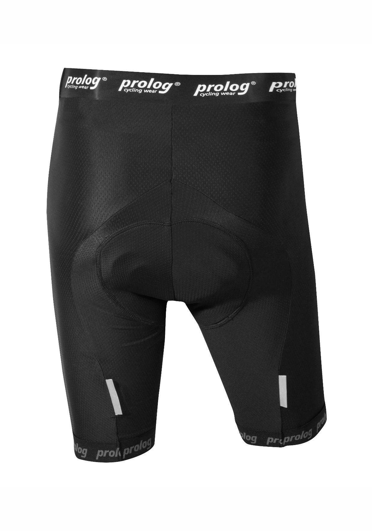 prolog cycling wear Radhose, Funktionale Radhose ohne Träger mit Sitzpolster