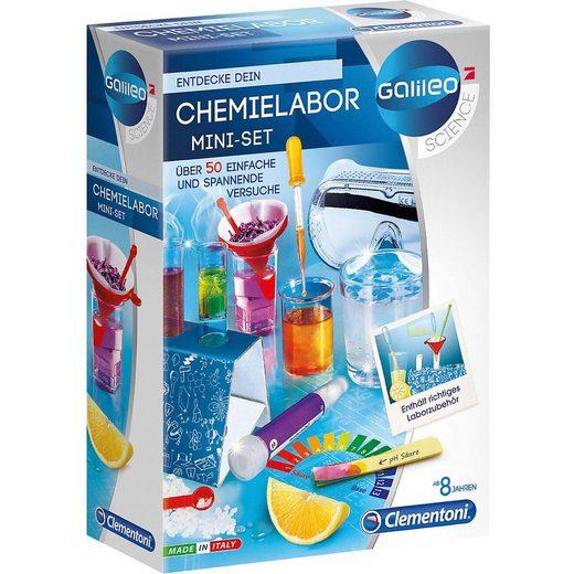 Clementoni® Lernspielzeug »Galileo - Mini Chemielabor«