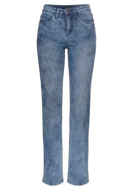 Hosen - Arizona Gerade Jeans »Comfort Fit« Moonwashed Jeans › blau  - Onlineshop OTTO