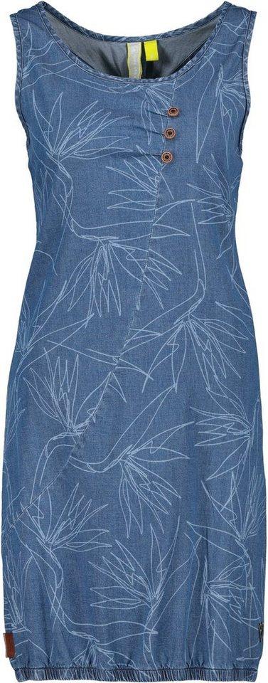 alife & kickin -  Jeanskleid »CameronAK« trendy Trägerkleid im Denim-Look mit Elasthan