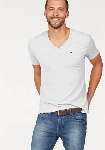Tommy Jeans T-Shirt »TJM ORIGINAL TRIBLEND V NECK TEE«
