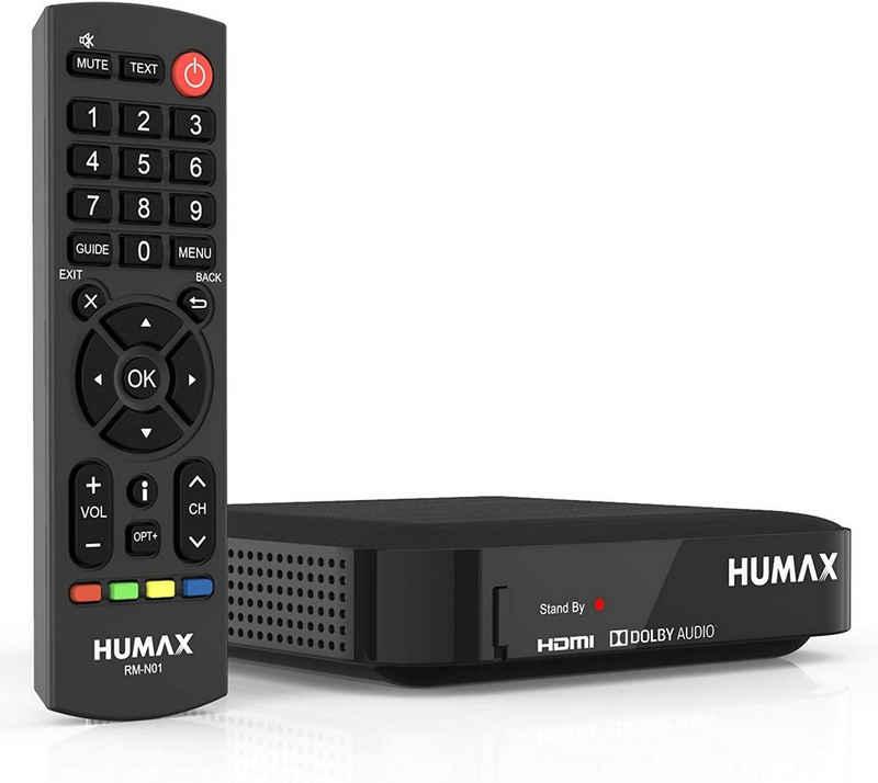 Humax »HUMAX Digital Kabel HD Nano Kabelreceiver Schwarz« Kabel-Receiver