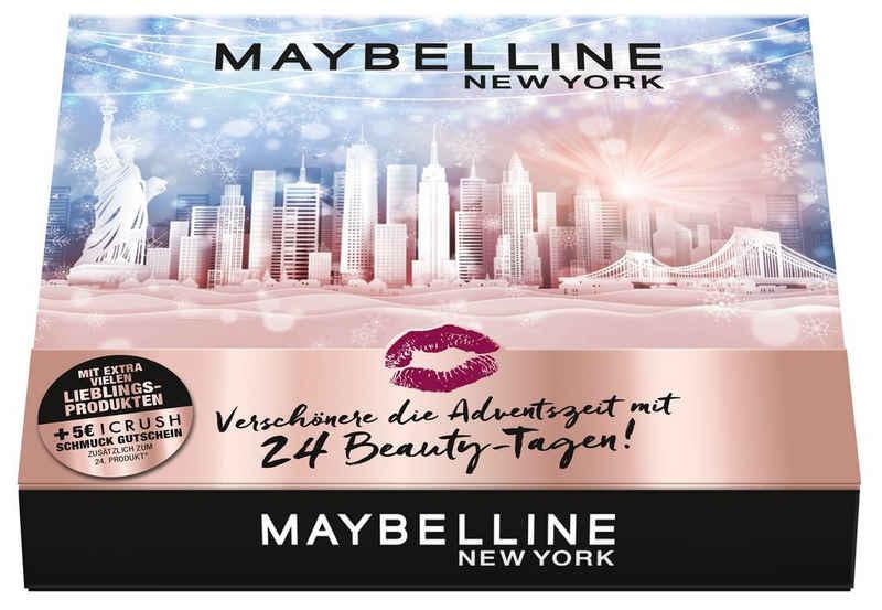 MAYBELLINE NEW YORK Adventskalender »24 Beauty Tage« (24-tlg)