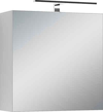 Homexperts Spiegelschrank »Salsa« Breite 60 cm, mit LED-Beleuchtung & Schalter-/Steckdosenbox