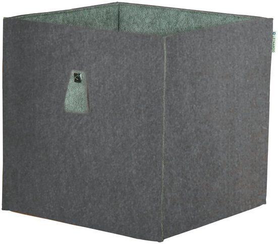 PHOENIX MÖBEL Aufbewahrungsbox »Atlanta«, B/H/T: 34 x 34 x 34 cm