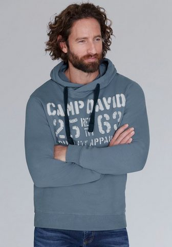 CAMP DAVID Sportinis megztinis su gobtuvu su groß...