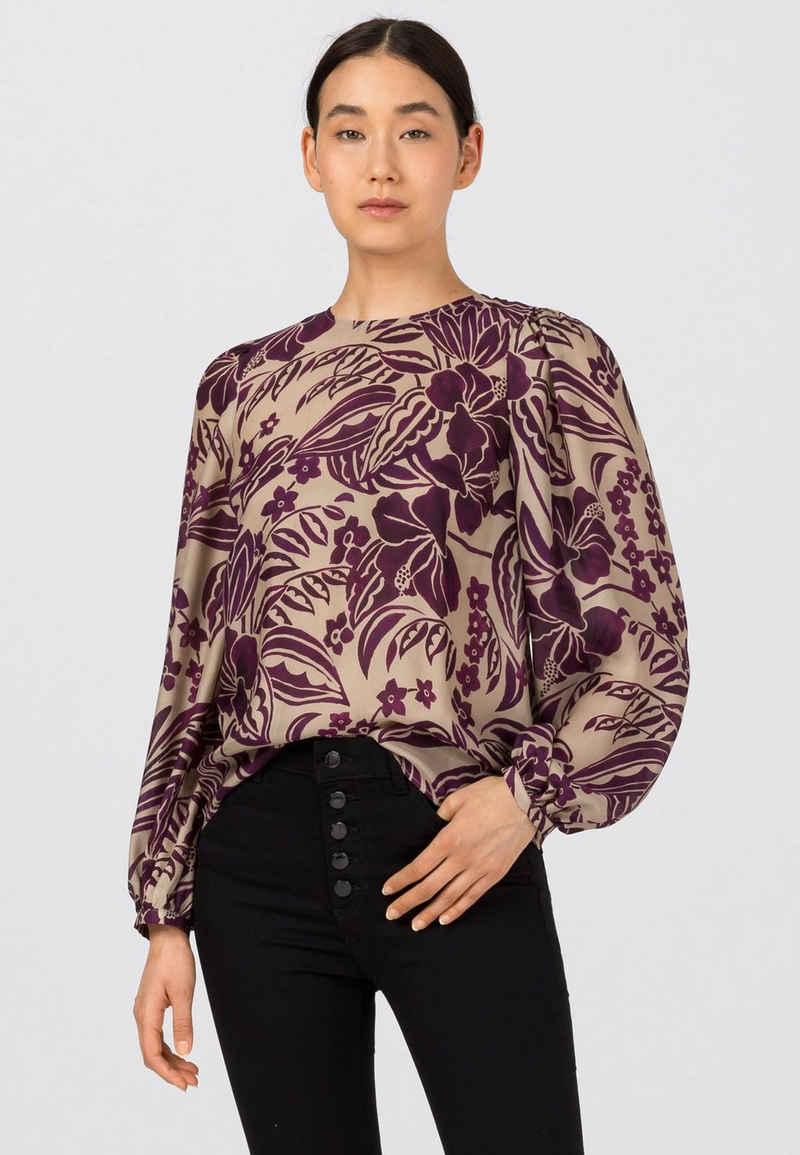 HALLHUBER Shirtbluse »mit Floraldruck«