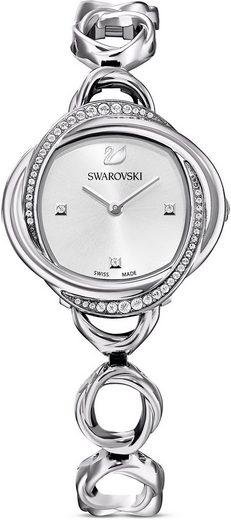 Swarovski Schweizer Uhr »Crystal Flower, 5547622«