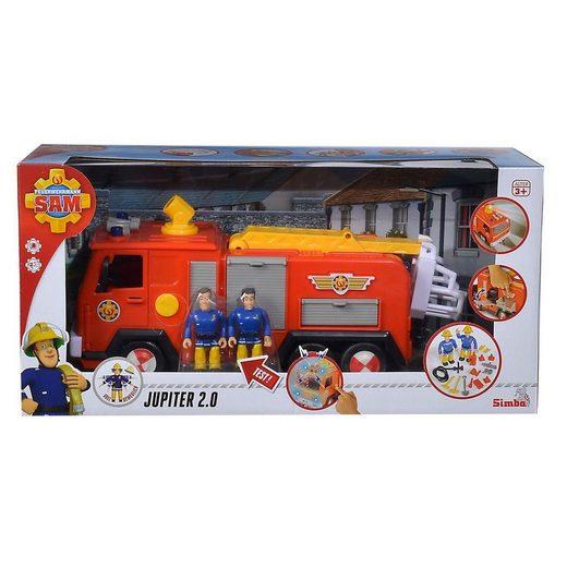 SIMBA Spielwelt »Simba 109251036 - Feuerwehrmann Sam - Jupiter 2.0 mit Licht & Sound-Effekten«