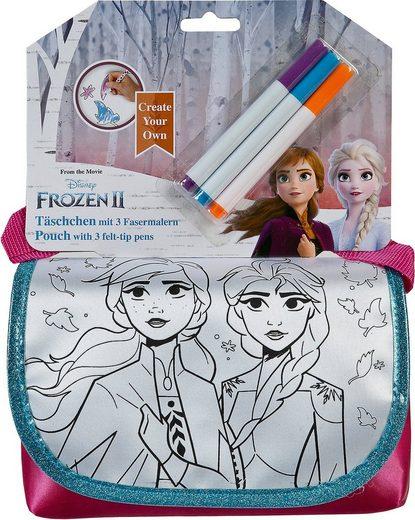 UNDERCOVER Malvorlage »Create your Own Täschchen - Die Eiskönigin«