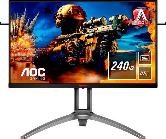 AOC AG273QZ Gaming-Monitor (2560 x 1440 Pixel, QHD, 0,5 ms Reaktionszeit, 240 Hz, inkl. Office-Anwendersoftware Microsoft 365 Single im Wert von 69 Euro)