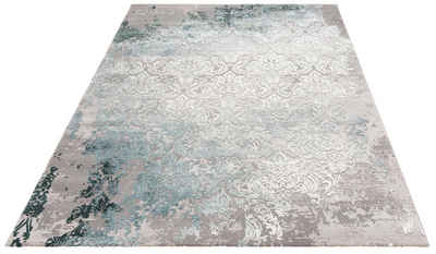 Teppich »Alisa«, Leonique, rechteckig, Höhe 12 mm, Hoch-Tief-Effekt, Wohnzimmer