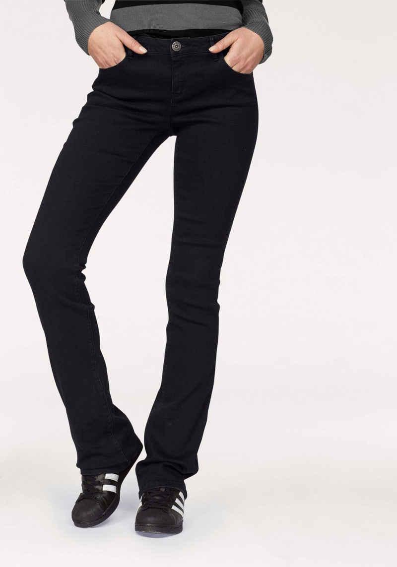 Arizona Bootcut-Jeans »Ultra-Stretch« Mid-Waist