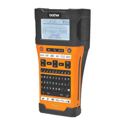 Brother Beschriftungsgerät »P-touch E500VP«
