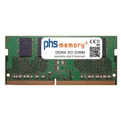 PHS-memory »RAM für Gigabyte P57W« Arbeitsspeicher