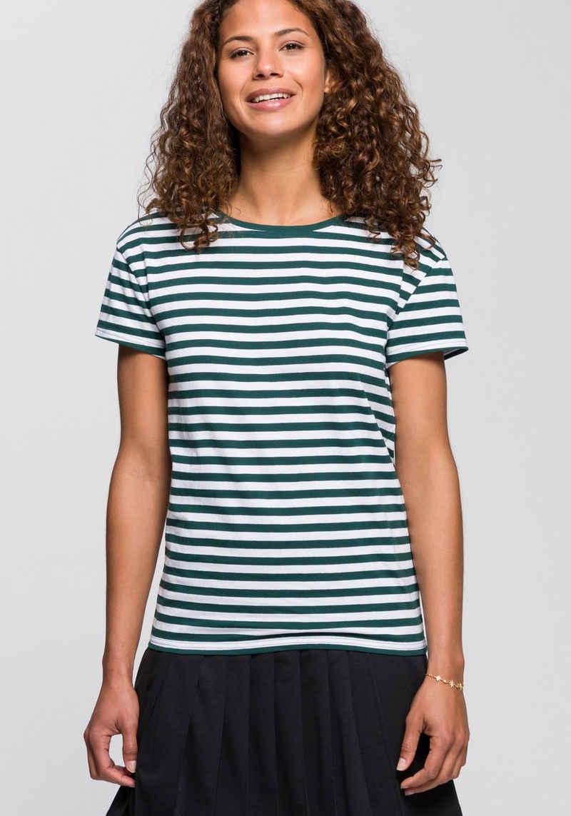 AJC T-Shirt im lässigen Streifen-Design