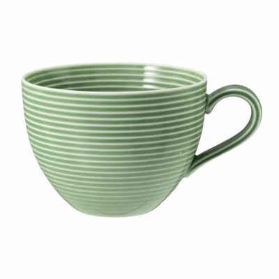 Seltmann Weiden Tasse »Beat Salbeigrün 350 ml«, Porzellan