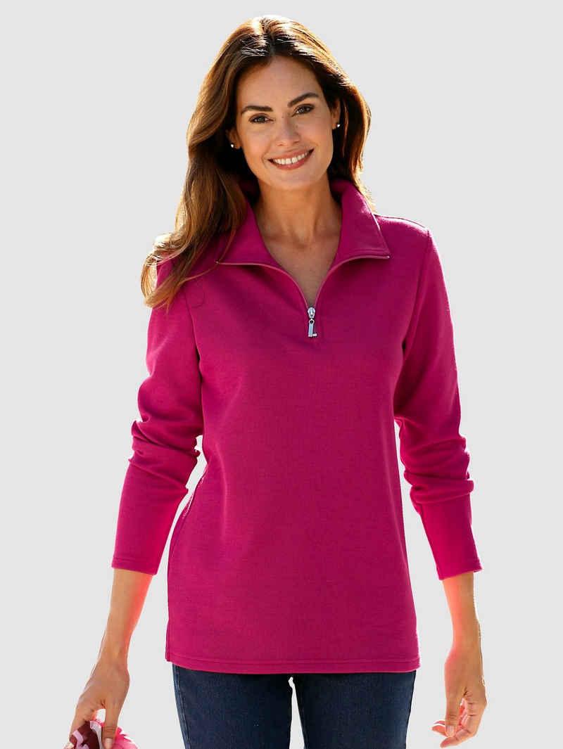 Paola Sweatshirt mit Reißverschluss