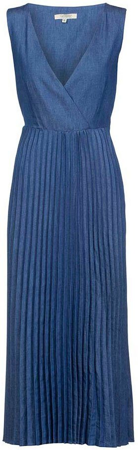 herrlicher -  Jeanskleid »ANIA DRESS« mit Plisseefalten