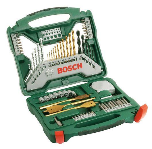 BOSCH Werkzeug-Zubehör-Set »X-Line Titanium«, + Zangen-Set, 70-tlg.