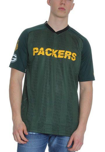 New Era Oversize-Shirt »New Era NFL Stripe Oversized T-Shirt Herren GREEN BAY PACKERS Grün«
