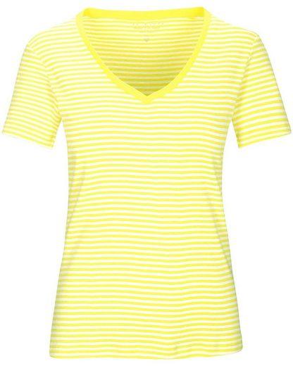 In Linea Firenze T-Shirt »Ringelshirt mit V-Ausschnitt«
