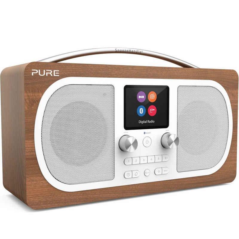 Pure »Evoke H6« Digitalradio (DAB) (Digitalradio (DAB), UKW mit RDS, DAB+ Radio, Bluetooth, mit integrierter Weckfunktion, Schlummerfunktion und Sleep-Timer, verfügt über eine Digital-Tick-Zulassung)
