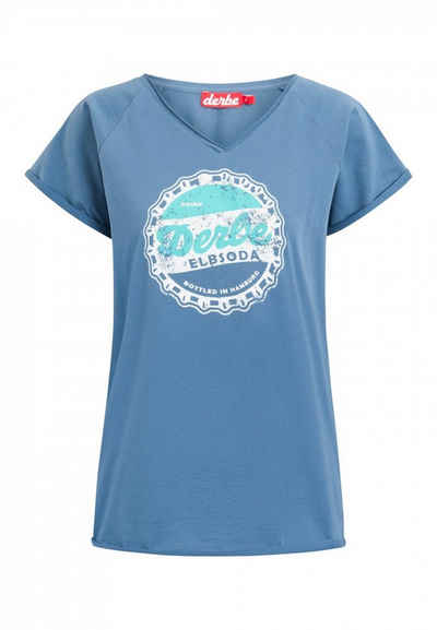 Derbe T-Shirt »Derbe Elbsoda W-03-TS-1011«