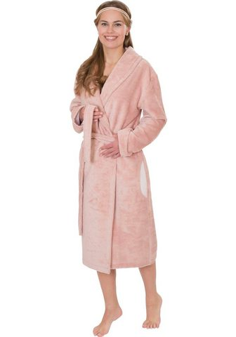 Wewo fashion Damenbademantel »4021« su Soft Touch