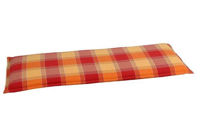 Go-De Bankauflage 2-Sitzer orange