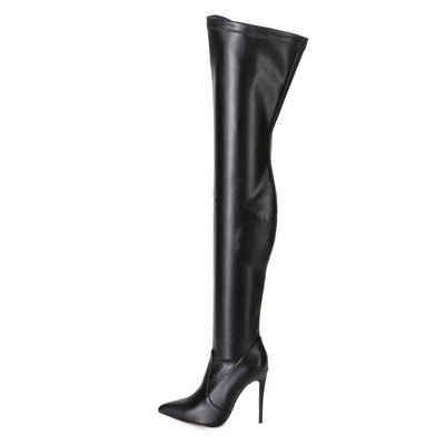 Giaro »Giaro Arabella Schwarz Overknee Stiefel« Overkneestiefel Vegan