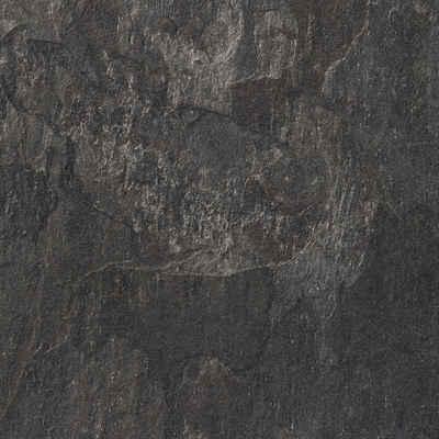 Bodenmeister Laminat »Fliesenoptik Schiefer dunkel-grau«, Packung, pflegeleicht, 60 x 30 cm Fliese, Stärke: 8 mm