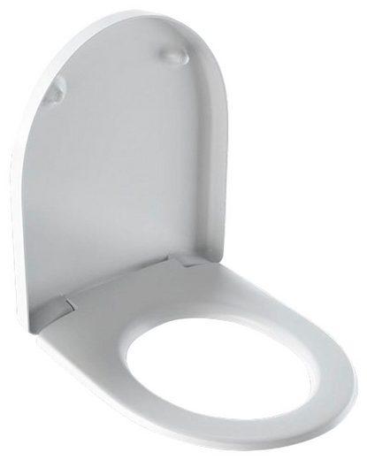 GEBERIT WC-Sitz »iCon«, weiß, mit Absenkautomatik & Quick Release