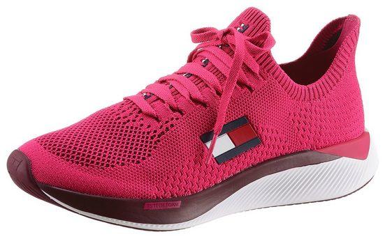Tommy Hilfiger Sport »TS ELITE 2 WOMEN« Slip-On Sneaker mit farbig unterlegtem Textilobermaterial
