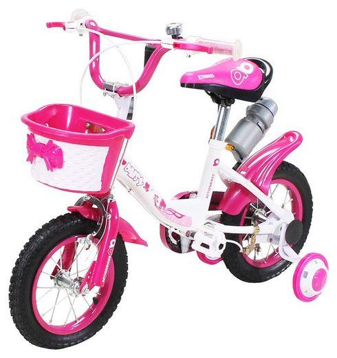 Actionbikes Motors Kinderfahrrad »Daisy«, 1 Gang, 12 - 16 - 20 Zoll - Ab 4-9 Jahren - Jungen & Mädchen - Kinder Fahrrad - Laufrad - BMX - Kinderrad