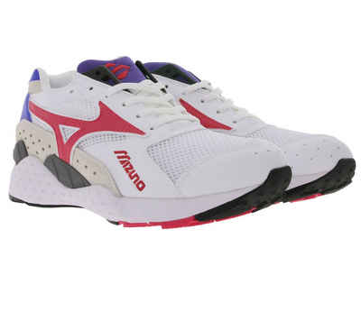 Mizuno Herren Wave Duel Turnschuhe Laufschuhe Sport Trainers Sneaker Schuhe Rot