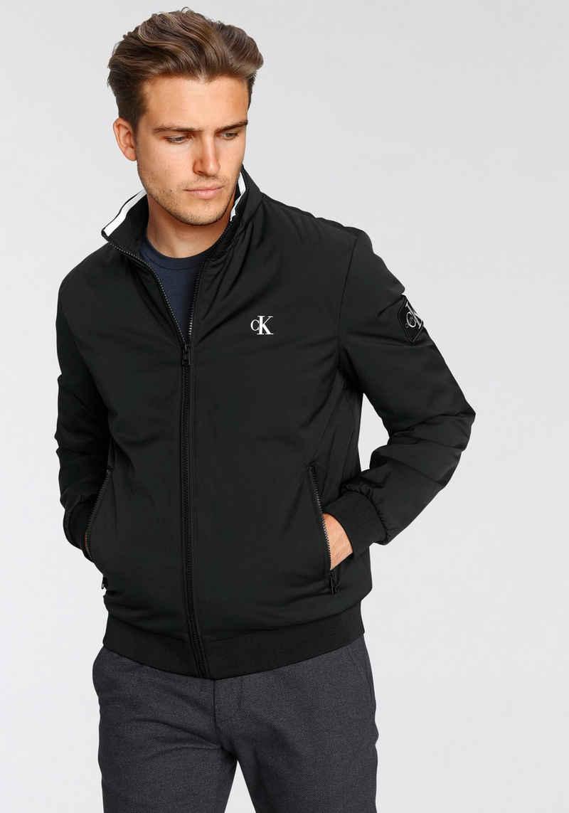Calvin Klein Jeans Blouson »NYLON HARRINGTON JACKET«