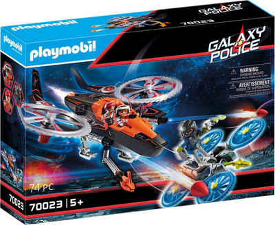 Playmobil® Konstruktions-Spielset »Galaxy Pirates-Heli (70023), Galaxy Police«, (74 St), Made in Europe