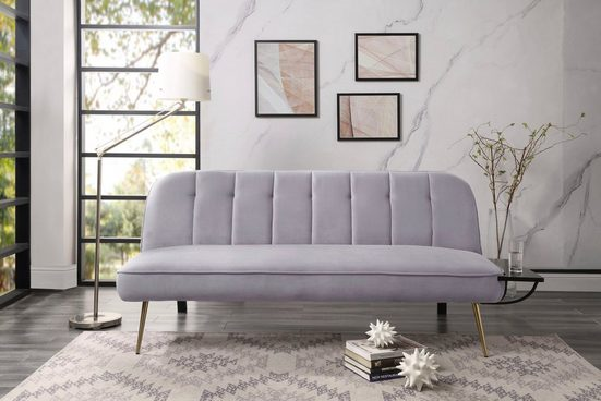ATLANTIC home collection Schlafsofa, inklusive Abstelltisch