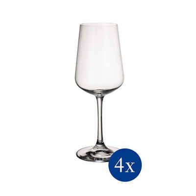 Villeroy & Boch Weißweinglas »Ovid Weißweinglas Weinkelch 380 ml 4er Set«, Glas