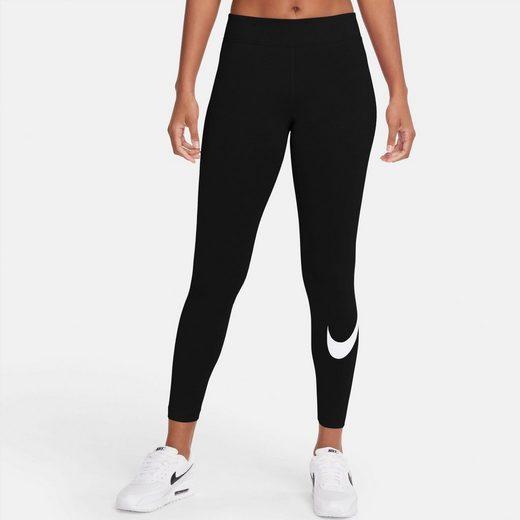 Nike Sportswear Leggings »ESSENTIAL WOMENS MID-RISE SWOOSH LEGGING«