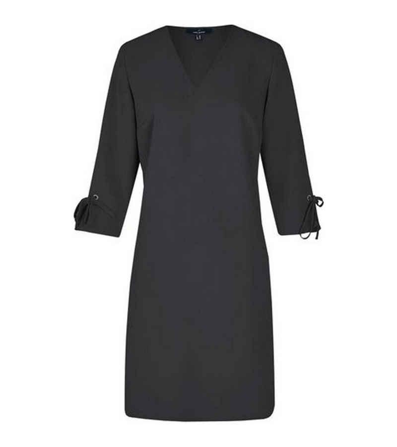 Daniel Hechter Sommerkleid »DANIEL HECHTER Shirt-Kleid sommerliches Damen Mini-Kleid mit Deko-Schleife Lounge-Kleid Schwarz«