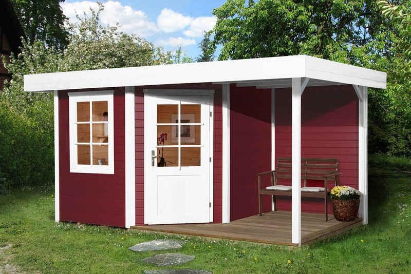 weka Gartenhaus »Stellan 1«, BxT: 442x278 cm, (Set)