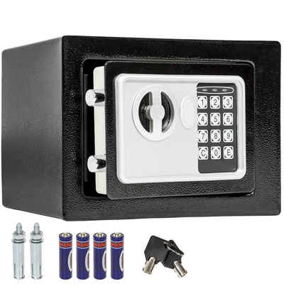 tectake Tresor »Elektronischer Safe Tresor mit Schlüssel inkl.«