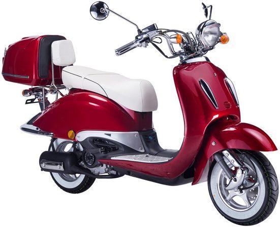 GT UNION Motorroller »Strada«, 125 ccm, 85 km/h, Euro 4, (Set), inkl. Topcase